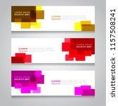 vector abstract design banner... | Shutterstock .eps vector #1157508241