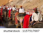 jaipur  india   march 14 ... | Shutterstock . vector #1157517007