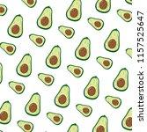 delicious avocado fresh fruit... | Shutterstock .eps vector #1157525647