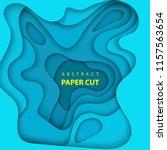 vector background with deep... | Shutterstock .eps vector #1157563654