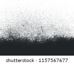 black and white halftone grunge ... | Shutterstock .eps vector #1157567677