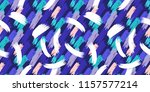 hand drawn modern brush strokes ... | Shutterstock . vector #1157577214