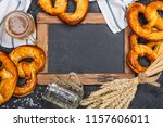 oktoberfest background  copy... | Shutterstock . vector #1157606011