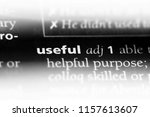 useful word in a dictionary.... | Shutterstock . vector #1157613607