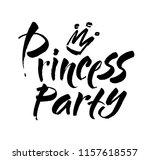princess party bridal shower...   Shutterstock .eps vector #1157618557