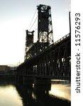 steel bridge  portland | Shutterstock . vector #11576293