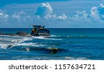 new jersey shore beach...   Shutterstock . vector #1157634721