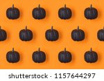 halloween holiday background... | Shutterstock . vector #1157644297