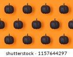halloween holiday background... | Shutterstock . vector #1157644297