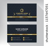 business model name card luxury ... | Shutterstock .eps vector #1157647051