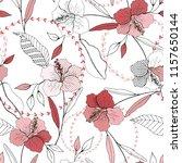 botanical motifs. isolated... | Shutterstock .eps vector #1157650144