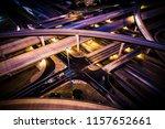 driving at night . highways... | Shutterstock . vector #1157652661