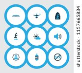 religion icons colored set with ... | Shutterstock .eps vector #1157665834