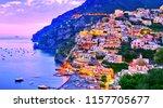 View Of Positano Village Along...