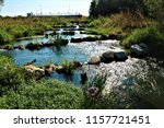 running water power plant | Shutterstock . vector #1157721451