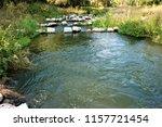 running water power plant | Shutterstock . vector #1157721454