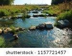 running water power plant | Shutterstock . vector #1157721457