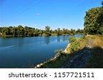 running water power plant | Shutterstock . vector #1157721511