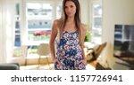 pretty millennial woman in... | Shutterstock . vector #1157726941