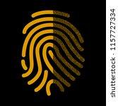 fingerprint signature in binary ...   Shutterstock .eps vector #1157727334