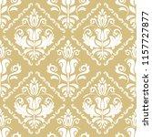 classic seamless vector golden...   Shutterstock .eps vector #1157727877