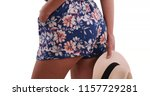 rear close up of woman in... | Shutterstock . vector #1157729281