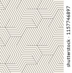 vector seamless pattern. modern ... | Shutterstock .eps vector #1157746897
