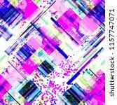 seamless pattern glitch design. ... | Shutterstock . vector #1157747071