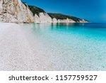 Fteri Beach In Kefalonia Island ...