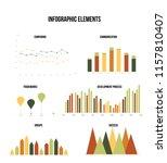 infographic elements  creative... | Shutterstock .eps vector #1157810407