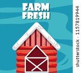 farm fresh cartoons | Shutterstock .eps vector #1157819944