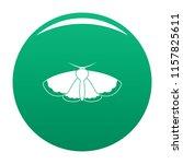 moth icon. simple illustration...   Shutterstock .eps vector #1157825611