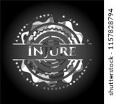 injure grey camouflaged emblem | Shutterstock .eps vector #1157828794