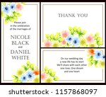 vintage delicate greeting... | Shutterstock . vector #1157868097
