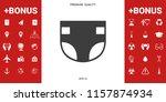 nappy icon symbol | Shutterstock .eps vector #1157874934