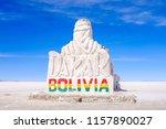 uyuni  bolivia   october 22 ... | Shutterstock . vector #1157890027