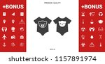 baby rompers icon | Shutterstock .eps vector #1157891974