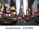 times square   new york city | Shutterstock . vector #1157892