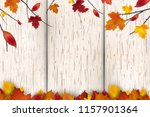 natural autumn background... | Shutterstock .eps vector #1157901364