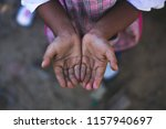 Hands Of A Homeless Child...