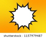 explosion steam bubble pop art... | Shutterstock . vector #1157979487