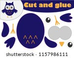 owl cartoon style  halloween... | Shutterstock .eps vector #1157986111