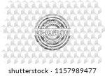 non cooperation grey emblem....   Shutterstock .eps vector #1157989477