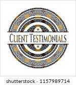 client testimonials arabic...   Shutterstock .eps vector #1157989714