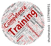 vector conceptual training ... | Shutterstock .eps vector #1157998951