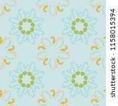 cool branches elegant seamless... | Shutterstock .eps vector #1158015394