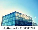 modern office building on a...   Shutterstock . vector #1158088744