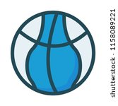 sport basket ball  | Shutterstock .eps vector #1158089221