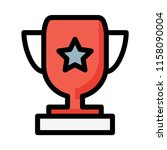 cup award prize  | Shutterstock .eps vector #1158090004