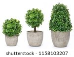 set trees that decorate the... | Shutterstock . vector #1158103207